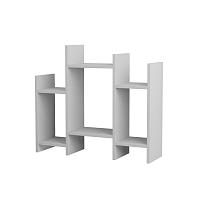 Biely odkladací stolík Homitis Potti