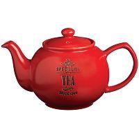Červená kanvička na čaj Price & Kensington Speciality 6cup