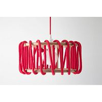 Červené stropné svietidlo EMKO Macaron, 45cm