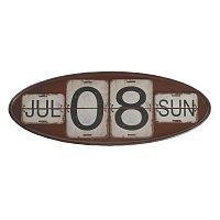 Červený nástenný kalendár Geese Time