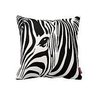 Čierno-biely vankúš Homemania Zebra, 43×43cm
