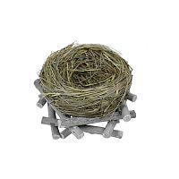 Dekorácia v tvare hniezda Ego Dekor, 17 x 8 cm