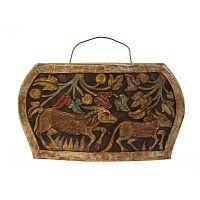 Dekoratívny zvon z akáciového dreva Vical Home Mahalia