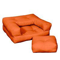 Detské kresielko Karup Baby Cube Orange