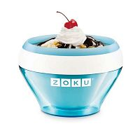 Modrý zmrzlinovač Zoku Ice Cream Teal