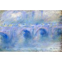 Obraz Claude Monet - Le Pont de Waterloo, 90x60 cm