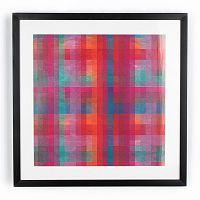 Obraz Graham & Brown Neon Pixel, 50x50cm