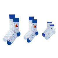 Rodinná sada 3 párov ponožiek Many Mornings Yacht Medium