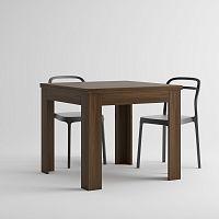 Rozkladací jedálenský stôl v dekore orecha MobiliFiver Eldorado, dĺžka 90-180cm