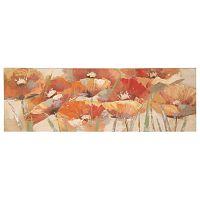 Ručne maľovaný obraz Mauro Ferretti Poppies, 150×50 cm