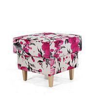 Ružovo-biela podnožka Max Winzer Lorris