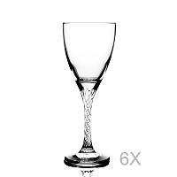 Sada 6 pohárov na víno Pasabahce, 205 ml