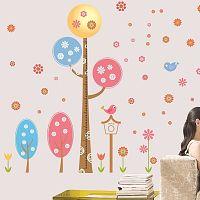 Sada samolepiek Ambiance Round Trees And Flowers