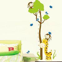 Samolepka Ambiance Tree And Monkey