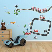 Samolepka na stenu Walplus Kid Transport