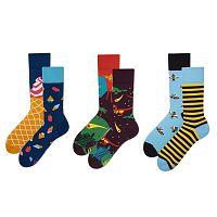 Set ponožiek v darčekovom balení Many Mornings Dinoland, veľ. 39–42