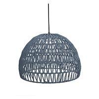 Sivé stropné svietidlo LABEL51 Rope, ⌀ 50 cm