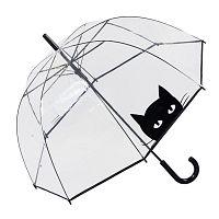 Transparentný dáždnik Looking Cat