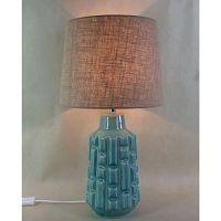 Tyrkysová stolová lampa Kare Design Pattern