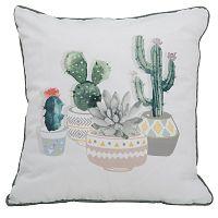 Vankúš Mauro Ferretti CUSCINO Cactus, 45×45 cm