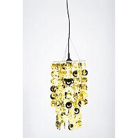 Závesné svietidlo v zlatej farbe Kare Design Flitter