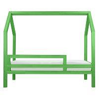Zelená bočnica k posteli Benlemi Funny