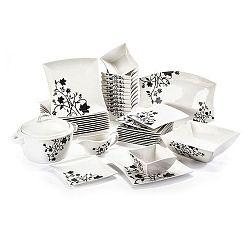 40-dielna sada riadu z porcelánu Duo Gift Porto