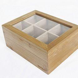 Bambusová krabička na čaje Bambum Misto
