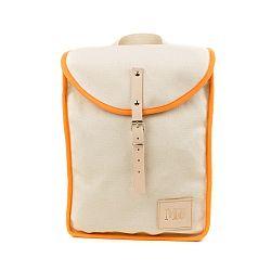 Béžový batoh s oranžovým detailom Mödernaked Orange Heap