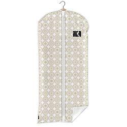 Béžový obal na oblek Domopak Ella, dĺžka 135 cm