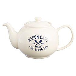 Biela kanvica na čaj Mason Cash Varsity 1,1 l