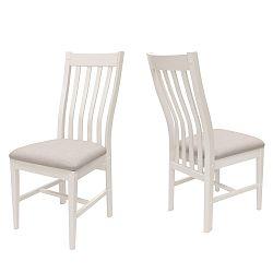 Biela stolička Canett Skagen Pure