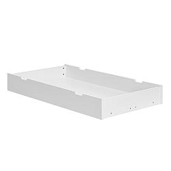 Biela zásuvka pod postieľku Pinio Marseille, 70×140