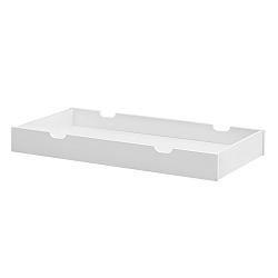 Biela zásuvka pod postieľku Pinio Moon, 60×120cm