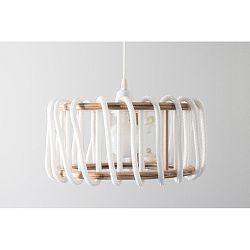 Biele stropné svietidlo EMKO Macaron, 30cm