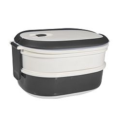Bielo-sivý desiatový box JOCCA Lunchbox