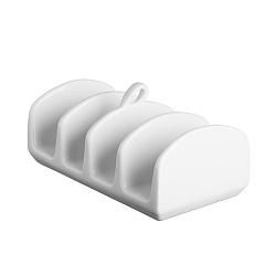 Biely stojan na toasty Price & Kensington Simplicity