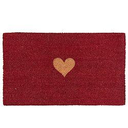 Červená rohožka Clayre & Eef Jolie, 75 x 45 cm