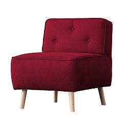 Červené kreslo Kooko Home Lounge