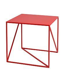 Červený odkladací stolík Custom Form Memo