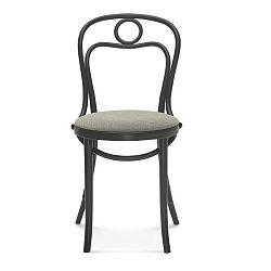 Čierna drevená stolička Fameg Jesper