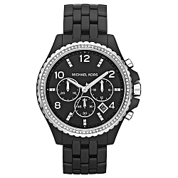 Čierne dámske hodinky Michael Kors
