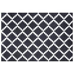 Čierno-biela rohožka Zala Living Elegance, 50 x 70 cm