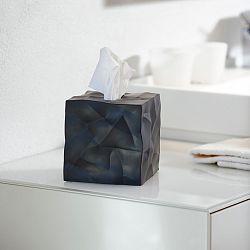Čierny box na vreckovky Essey Wipy Cube