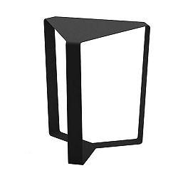 Čierny odkladací stolík MEME Design Finity, výška 40 cm