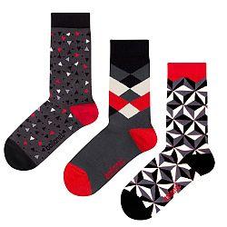 Darčeková sada ponožiek Ballonet Socks Abstract, veľ. 36-40