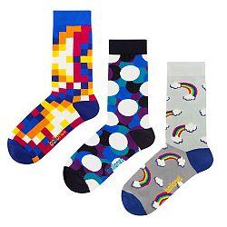 Darčeková sada ponožiek Ballonet Socks Bubbles, veľ. 36-40