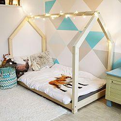 Detská posteľ s bočnicami Benlemi Tery, 90x190cm