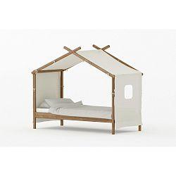 Detská posteľ z borovicového dreva BLN Kids House, 200 x 90 cm