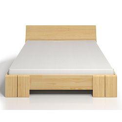 Dvojlôžková posteľ z borovicového dreva SKANDICA Vestre Maxi, 160×200cm